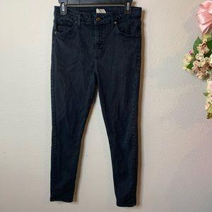 Topshop Moto Jamie High Waisted Jeans